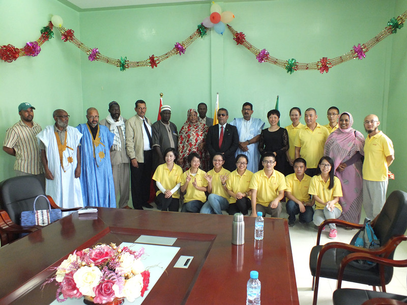 首个民资兴办的免费教育机构在非洲毛里努市开业